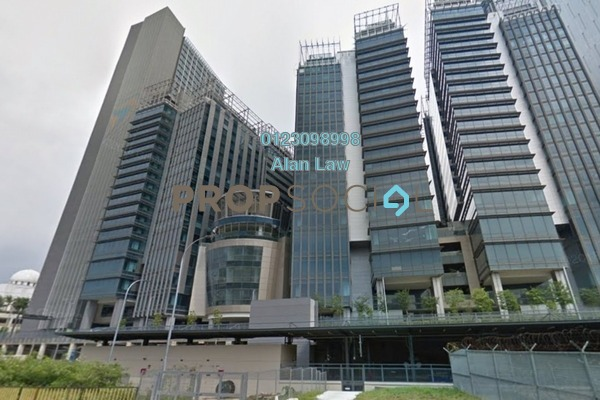 For Rent Office at The Pillars @ KL Eco City, Mid Valley City Freehold Unfurnished 0R/0B 15.9k