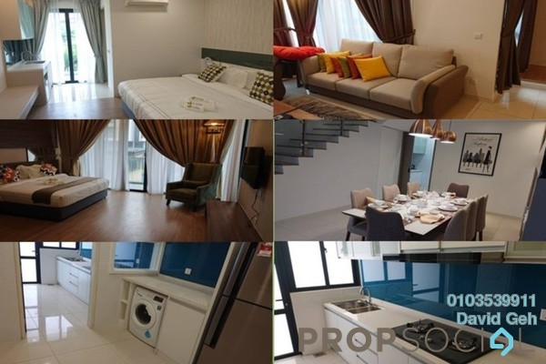 For Rent Serviced Residence at Tropical Villa, Seri Kembangan Freehold Fully Furnished 1R/1B 1.6k