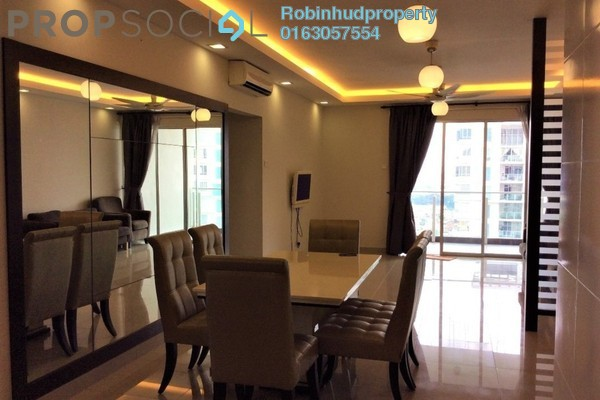 For Rent Condominium at Zen Residence, Puchong Freehold Semi Furnished 3R/2B 2k