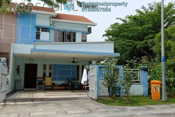 For Sale Terrace at Setia Indah, Setia Alam Freehold Semi Furnished 4R/3B 920k