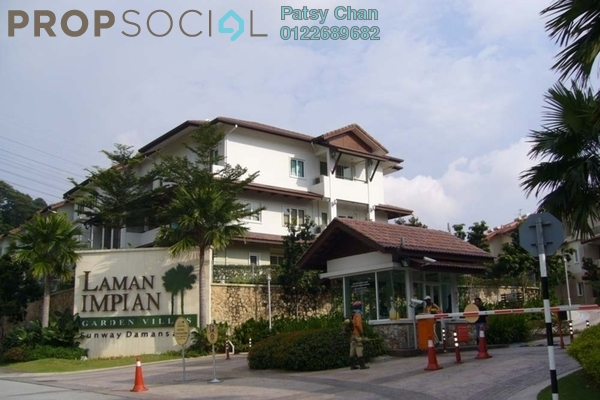 For Sale Townhouse at Laman Impian, Sunway Damansara Freehold Fully Furnished 3R/4B 1.35m