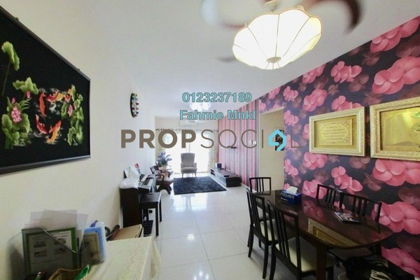 For Sale Condominium at Casa Idaman, Jalan Ipoh Freehold Fully Furnished 4R/2B 410k