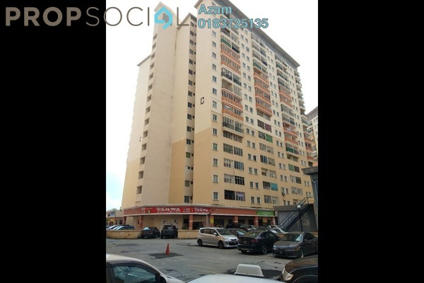 For Sale Apartment at Residensi Bistaria, Ukay Freehold Semi Furnished 4R/2B 366k