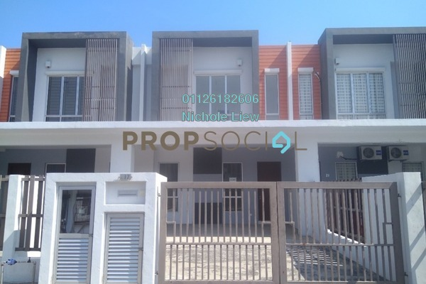 For Sale Terrace at Setia EcoHill, Semenyih Freehold Semi Furnished 4R/3B 488k