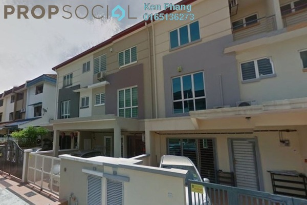 For Sale Terrace at Taman Bukit Intan, Sri Petaling Freehold Semi Furnished 4R/3B 710k