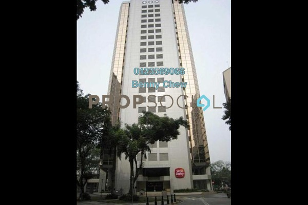 For Rent Office at Wisma Sime Darby, Chow Kit Freehold Semi Furnished 0R/0B 16.8k