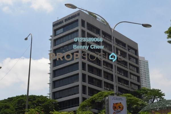 For Rent Office at Wisma Budiman, Bukit Ceylon Freehold Semi Furnished 0R/0B 12k