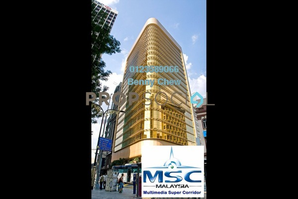 For Rent Office at Wisma Hamzah Kwong Hing, Pudu Freehold Semi Furnished 0R/0B 14k