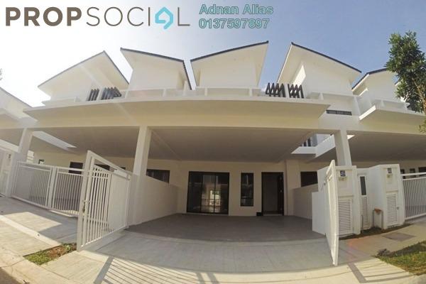 For Sale Terrace at Nusari Bayu, Bandar Sri Sendayan Freehold Unfurnished 4R/4B 720k