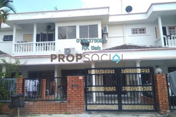 For Rent Terrace at SL8, Bandar Sungai Long Freehold Unfurnished 4R/3B 1.1k