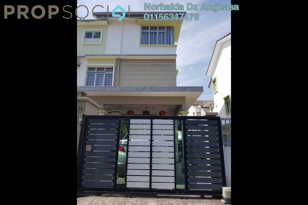 For Sale Townhouse at Alam Sanctuary, Bandar Putra Permai Leasehold Semi Furnished 3R/2B 800k