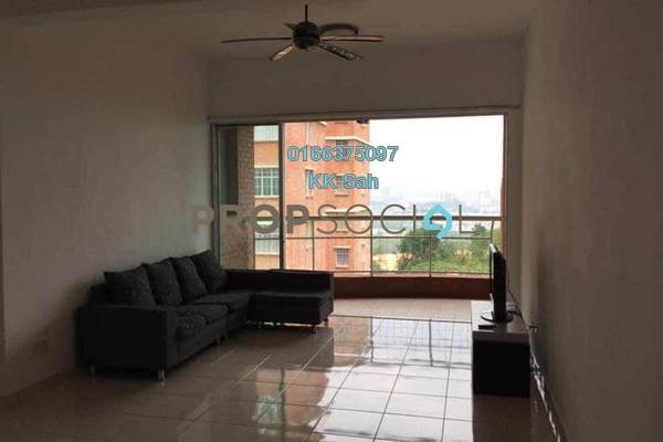 For Rent Condominium at Greenview Residence, Bandar Sungai Long Freehold Fully Furnished 3R/2B 1.3k