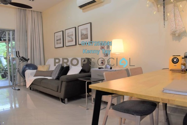 For Sale Townhouse at Villa Mas 2, Jalan Ipoh Freehold Semi Furnished 4R/3B 790k