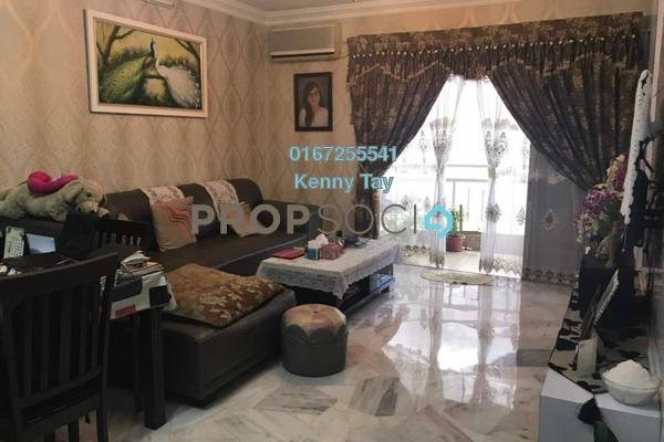 For Sale Townhouse at Desa Alpha, Jalan Ipoh Freehold Semi Furnished 3R/3B 628k
