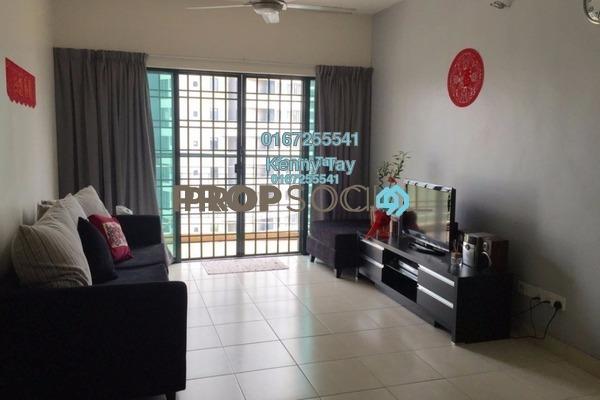 For Sale Condominium at Changkat View, Dutamas Freehold Semi Furnished 3R/2B 530k