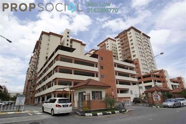 For Sale Apartment at Sri Ria Apartment, Kajang Freehold Semi Furnished 3R/2B 230k