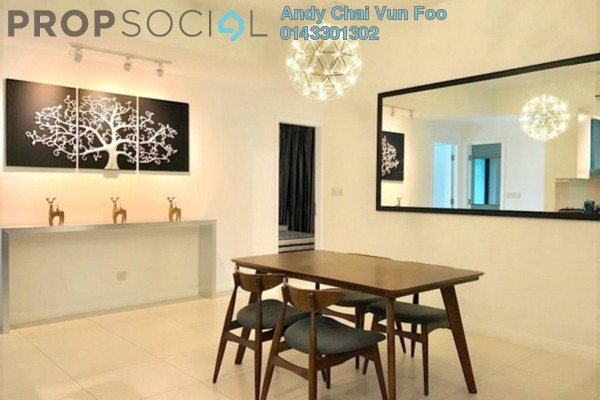 For Rent Serviced Residence at Three28 Tun Razak, KLCC Freehold Fully Furnished 3R/3B 5k