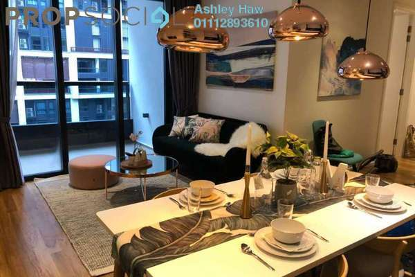 For Sale Serviced Residence at Arcoris, Mont Kiara Freehold Fully Furnished 2R/2B 1.25m