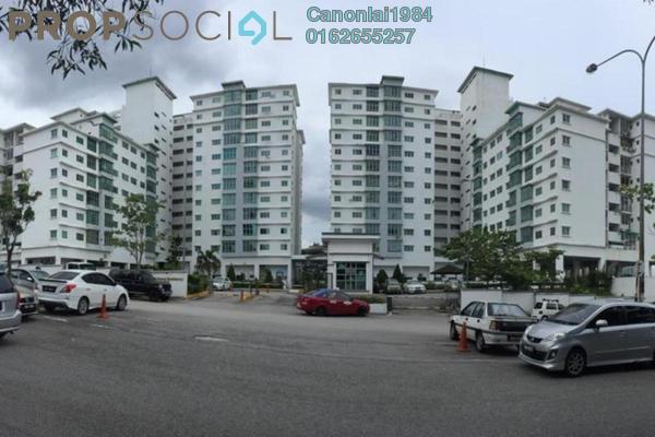 For Rent Condominium at Sierra Residency, Bandar Kinrara Freehold Semi Furnished 3R/2B 1.05k