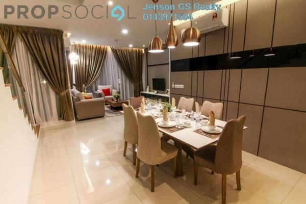 For Sale Condominium at Green View Park, Seri Kembangan Freehold Semi Furnished 3R/3B 1.25Juta