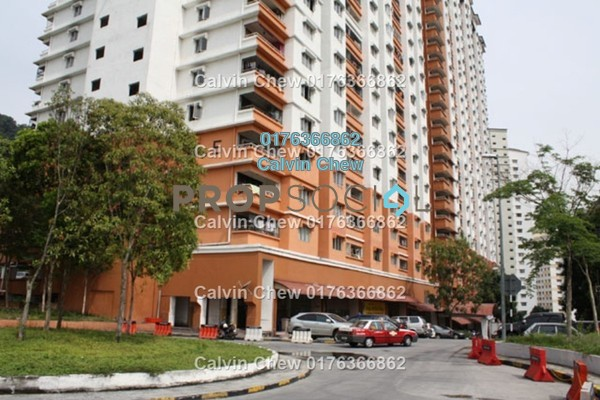 For Sale Apartment at Flora Damansara, Damansara Perdana Freehold Unfurnished 3R/2B 171k