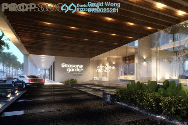 For Sale Condominium at Seasons Garden Residences, Wangsa Maju Freehold Unfurnished 3R/2B 520k