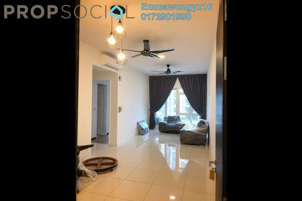 For Rent Condominium at EcoSky, Jalan Ipoh Freehold Semi Furnished 2R/2B 1.8k