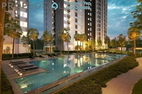 For Sale Serviced Residence at Plaza Kelana Jaya, Kelana Jaya Freehold Unfurnished 2R/1B 320k