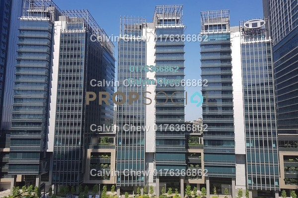 For Sale Office at Strata Office Suites @ KL Eco City, Mid Valley City Freehold Unfurnished 0R/0B 900k