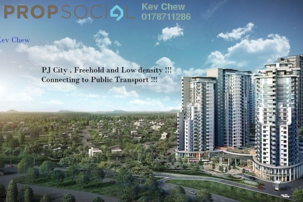 For Sale Condominium at Oasis Ara Damansara, Ara Damansara Freehold Semi Furnished 1R/1B 377k