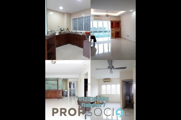 For Sale Condominium at Petaling Indah, Sungai Besi Freehold Semi Furnished 2R/2B 298k