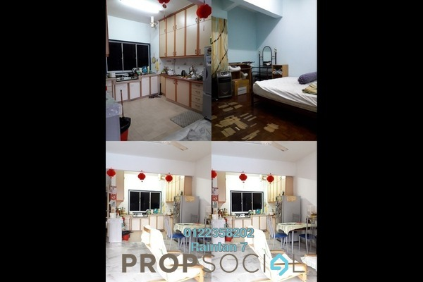 For Sale Condominium at Petaling Indah, Sungai Besi Freehold Semi Furnished 3R/2B 358k