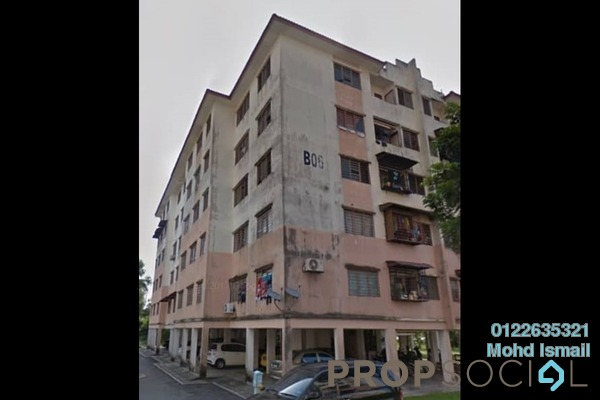 For Sale Apartment at Melor Apartment, Kajang Freehold Unfurnished 3R/2B 153k