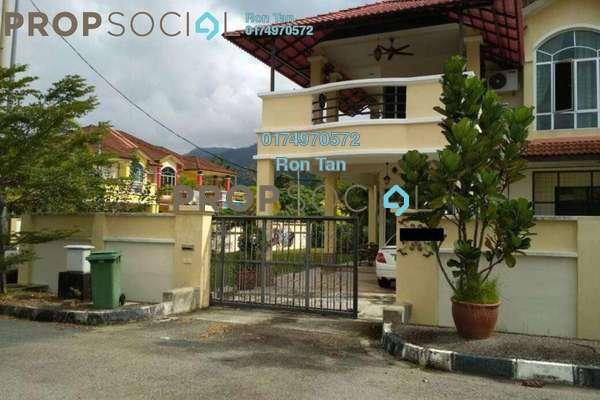 For Sale Semi-Detached at Taman Sempurna, Balik Pulau Freehold Fully Furnished 4R/2B 950k