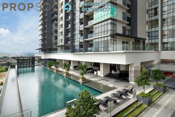 For Sale Serviced Residence at The Elements, Ampang Hilir Freehold Semi Furnished 4R/3B 633k