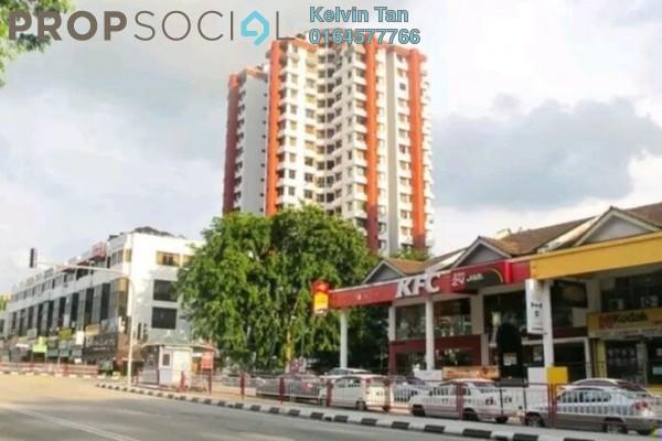 For Rent Condominium at University Heights, Sungai Dua Freehold Semi Furnished 3R/2B 1.2k
