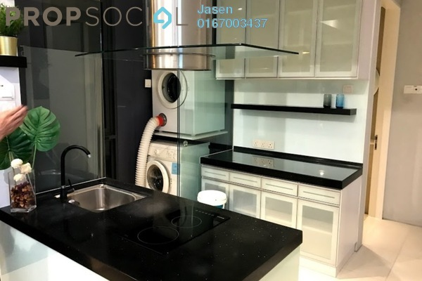 For Sale Condominium at The Capers, Sentul Freehold Fully Furnished 2R/2B 650k