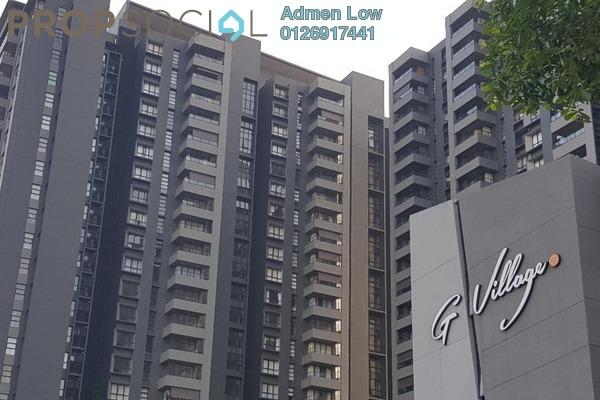 For Sale Condominium at G Residence, Desa Pandan Leasehold Semi Furnished 2R/2B 1.1m