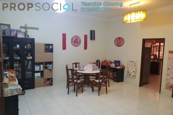 For Sale Townhouse at Taman Skyline, Old Klang Road Freehold Fully Furnished 3R/2B 590k