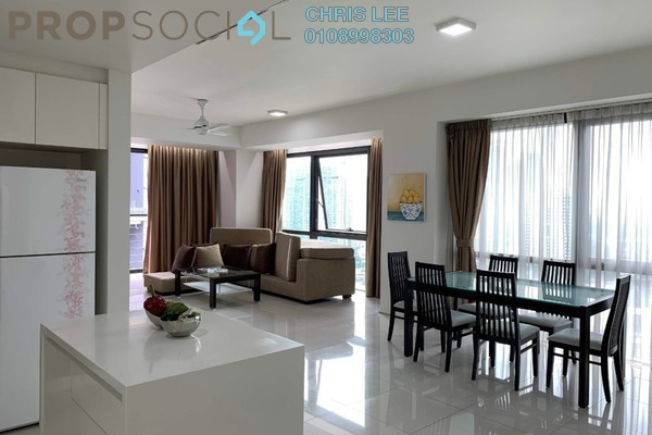 For Rent Condominium at Hampshire Place, KLCC Freehold Fully Furnished 2R/2B 4.8k