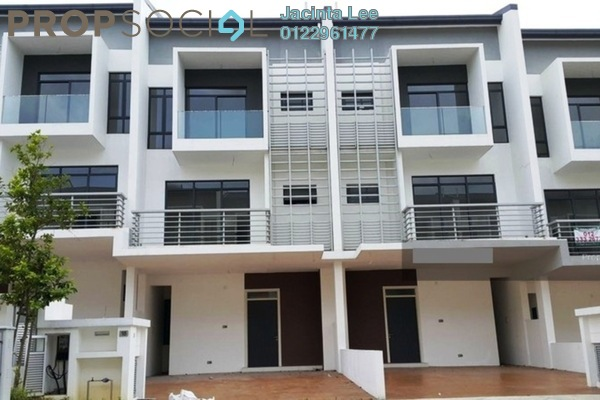 For Sale Terrace at LakeClub Parkhome, Rawang Freehold Unfurnished 6R/6B 672k