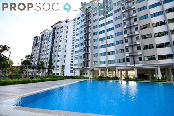 For Sale Apartment at Suria Rafflesia, Setia Alam Freehold Unfurnished 3R/2B 257k