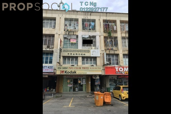 For Sale Apartment at Jalan Bandar, Pusat Bandar Puchong Freehold Unfurnished 3R/1B 240k