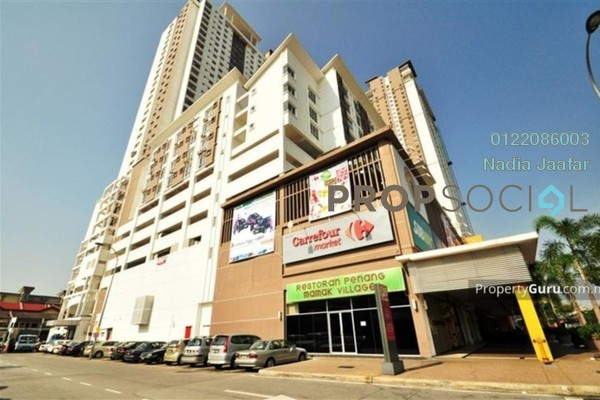 For Rent Serviced Residence at Axis Residence, Pandan Indah Freehold Fully Furnished 2R/2B 1.8k