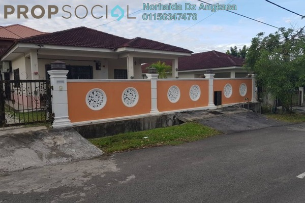 For Sale Bungalow at Taman Pinggiran Putra, Bandar Putra Permai Leasehold Semi Furnished 3R/2B 650k