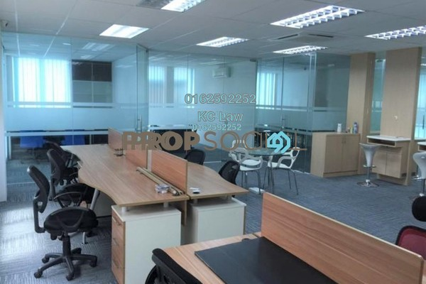 For Rent Office at Puteri 2, Bandar Puteri Puchong Freehold Fully Furnished 0R/0B 3.3k