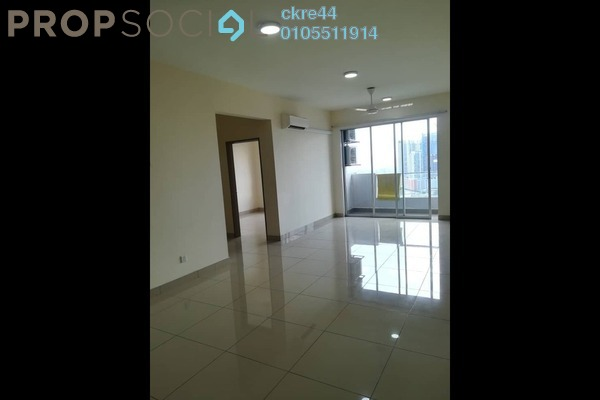 For Rent Condominium at Platinum Lake PV21, Setapak Freehold Semi Furnished 2R/2B 1.35k