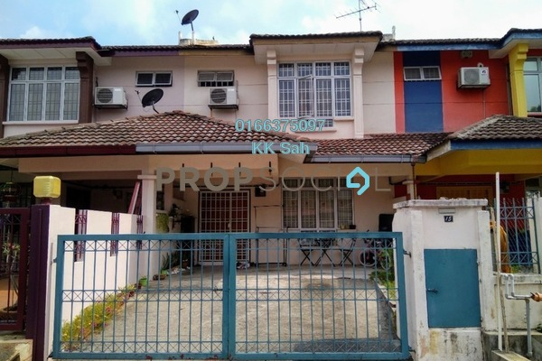 For Sale Link at Section 5, Bandar Mahkota Cheras Freehold Semi Furnished 4R/3B 530k