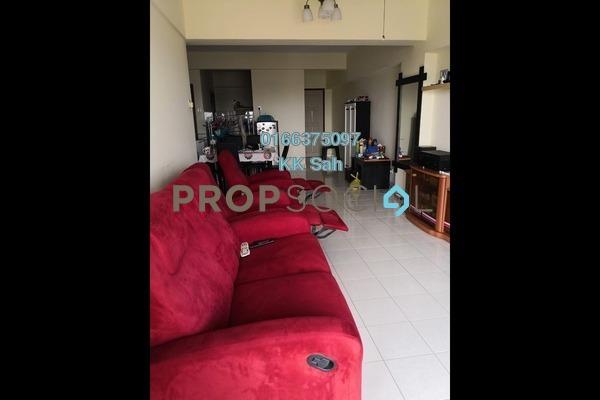 For Sale Apartment at Plaza Indah, Kajang Freehold Fully Furnished 3R/2B 245k