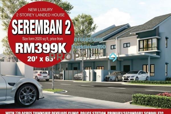 For Sale Terrace at Iringan Bayu, Seremban Freehold Unfurnished 4R/4B 399k